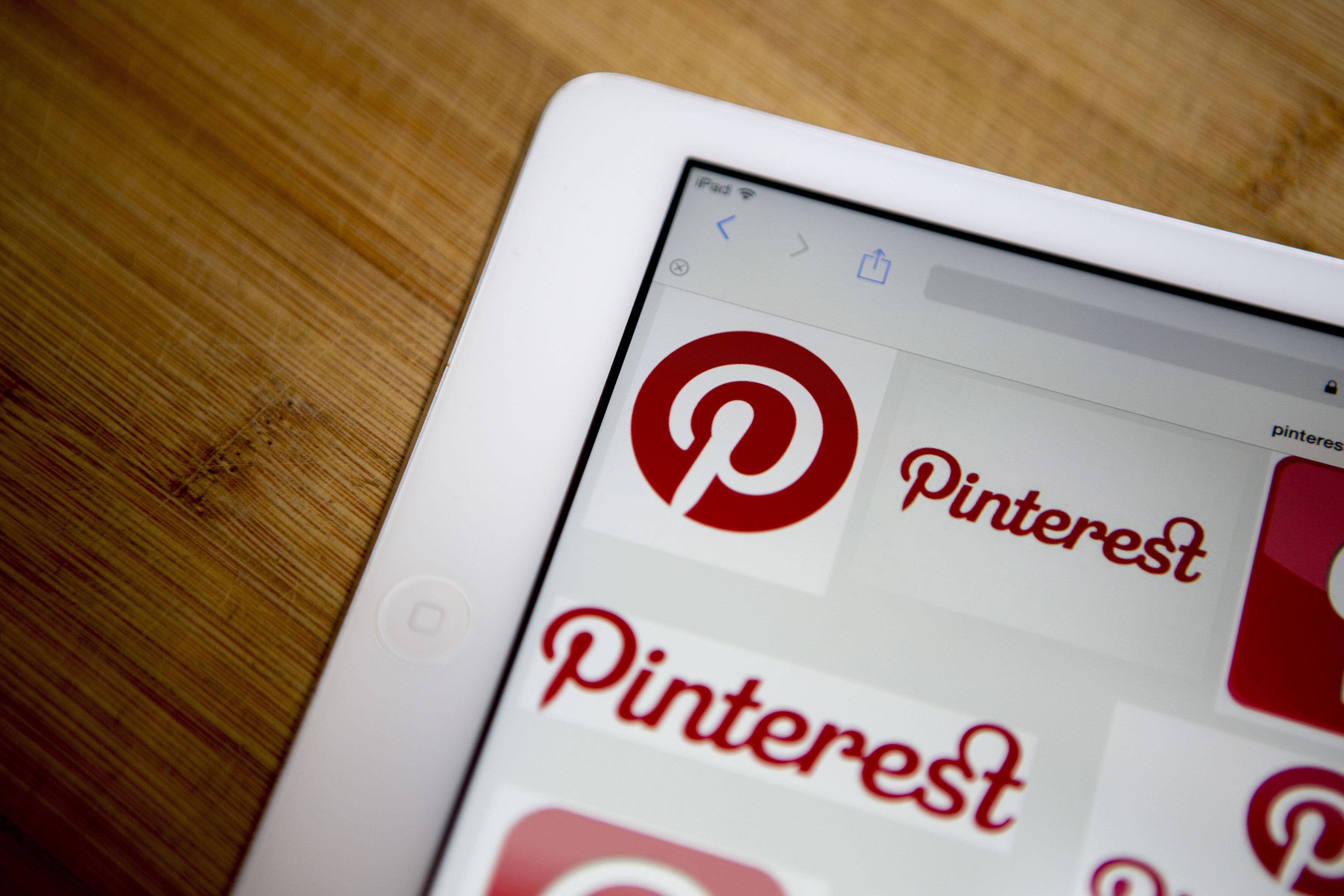 Pinterest một trong những trang kiểm soát truyền thông hàng đầu thế giới