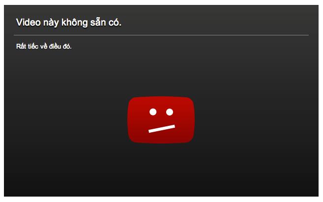 Chết kênh Youtube
