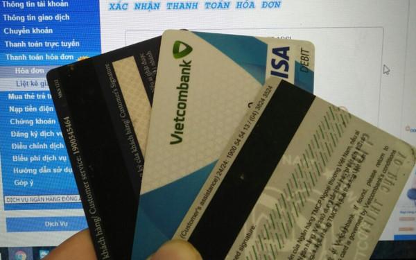 Thẻ Visa ngân hàng Vietcombank
