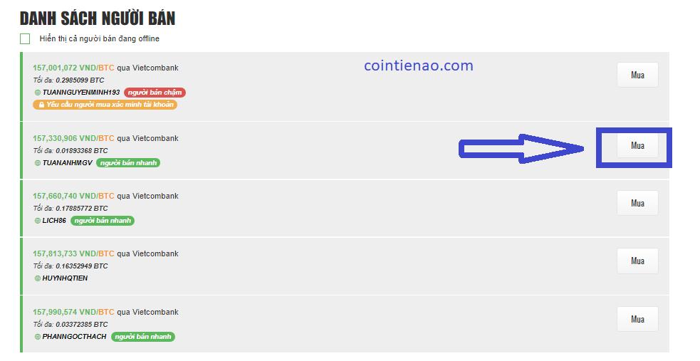 Mua Bitcoin trên Remitano. Ảnh 2