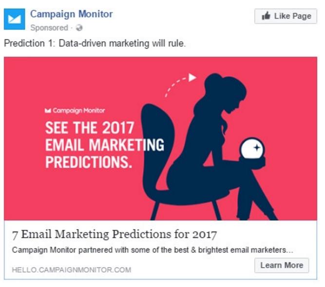 Quảng cáo của nhà cung cấp dịch vụ Email Marketing