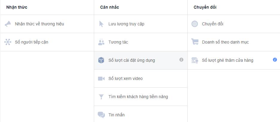Các công cụ hỗ trợ có sẵn cho Ads Manager
