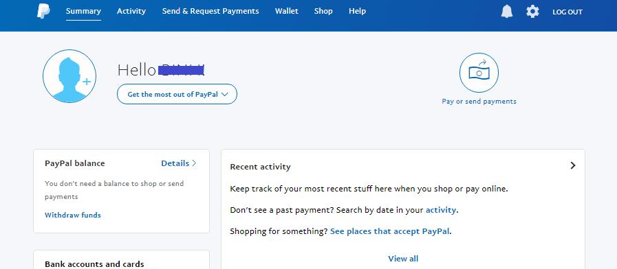 Tạo tài khoản Paypal. Ảnh 5