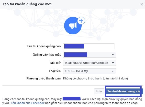 Tạo tài khoản Facebook Ads. Ảnh 4