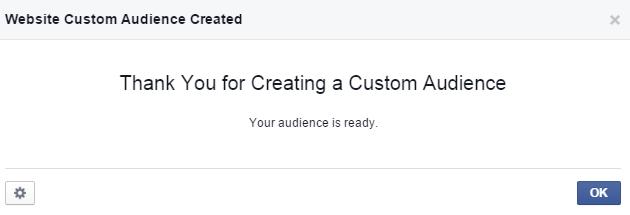 Tạo Retarget Custom Audience. Ảnh 5