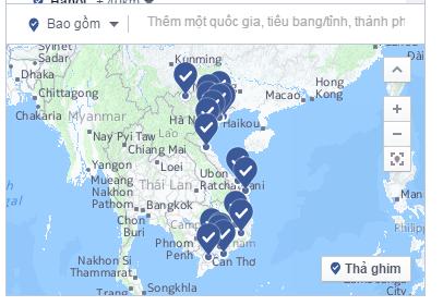 Target theo tâm lý từng khu vực địa lý